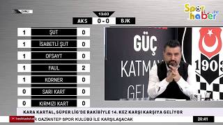 Akhisarspor 1-3 Beşiktaş Maçı CANLI Anlatım   bjk tv