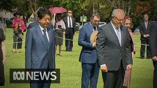 Japanese Prime Minister makes historic visit to Darwin | ABC News