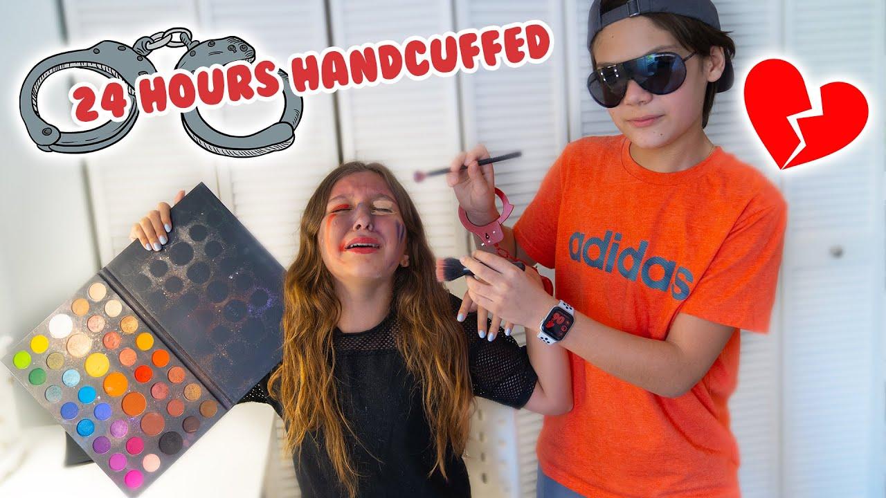 24 hours handcuffed to my SECRET crush