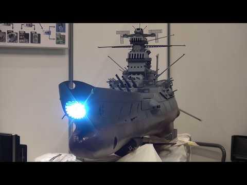 1/100ラジコン宇宙戦艦ヤマト 波動砲発射シーン再現
