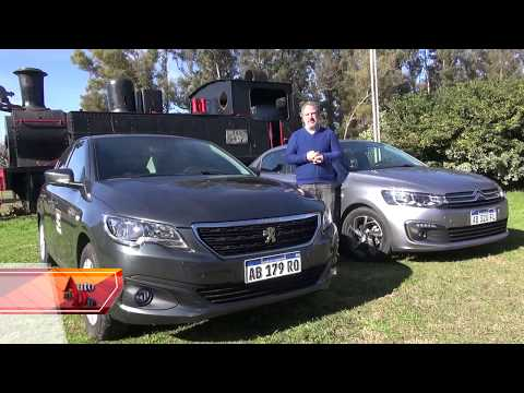 PEUGEOT 301 ALLURE HDi vs. C-ELYSÉE SHINE AT (19/8/17) TEST AUTO AL DÍA.