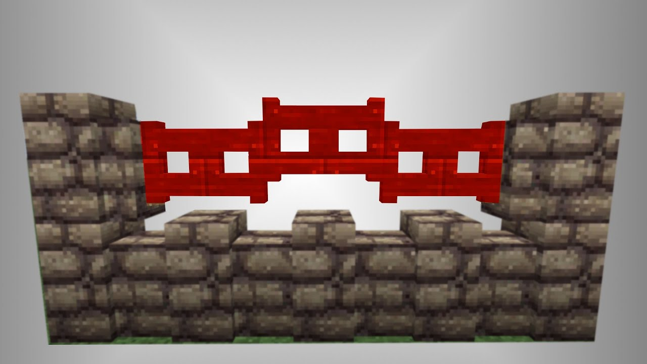 how to make a fence in minecraft 1.8