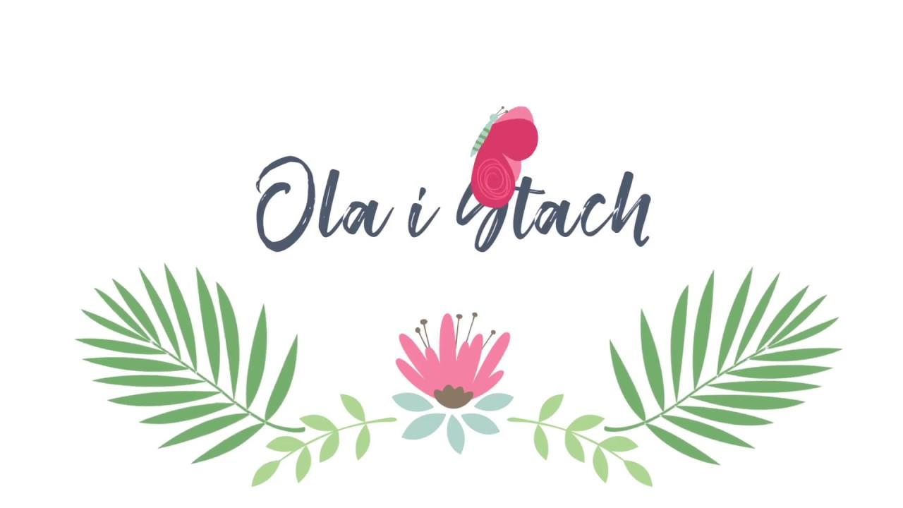 Zaproszenie ślubne Ola I Stach ślub Design Youtube