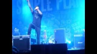 Astronaut ~ Simple Plan 20/10/12 Estadio Malvinas Argentinas.