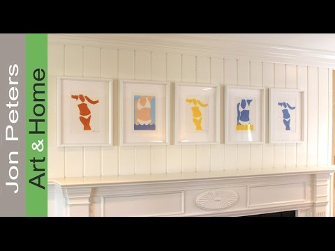 Art Lesson #23 - How to Hang Art & Pictures Perfectly Straight and ...