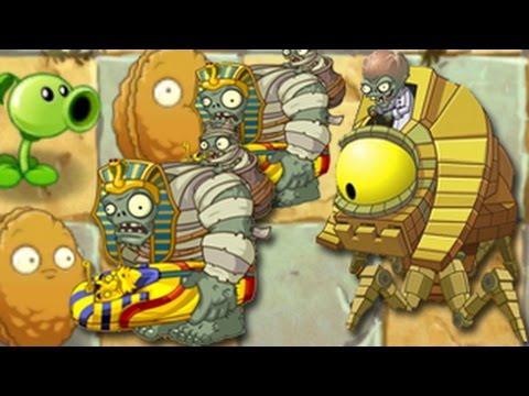 เกมส์พืชปะทะซอมบี้ 2: Ancient Egypt - Day 25/25