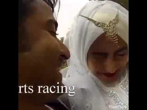 "Shaheer Sheikh - Nabila Syakieb on wedding scene ""Cinta di Langit Taj Mahal"""