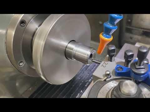 Chambering A Match Barrel On A Hardinge CNC Lathe