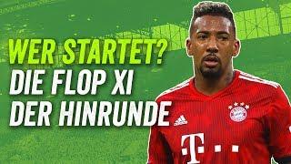 Die Onefootball Flop-Elf der Bundesliga Hinrunde 2018/19! Feat. 2x BVB, 2x FCB und Schalke 04!