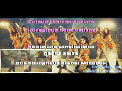 Catch Me If You Can - Girls Generation / SNSD (Karaoke/Instrumental)