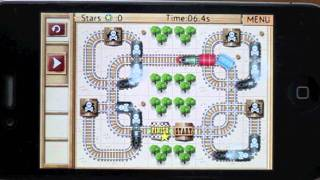 Rail Maze Trailer (game for iOS and Mac)