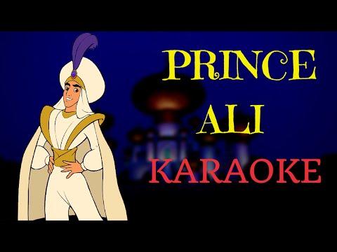 Prince Ali - Aladdin (Multilanguage Karaoke)