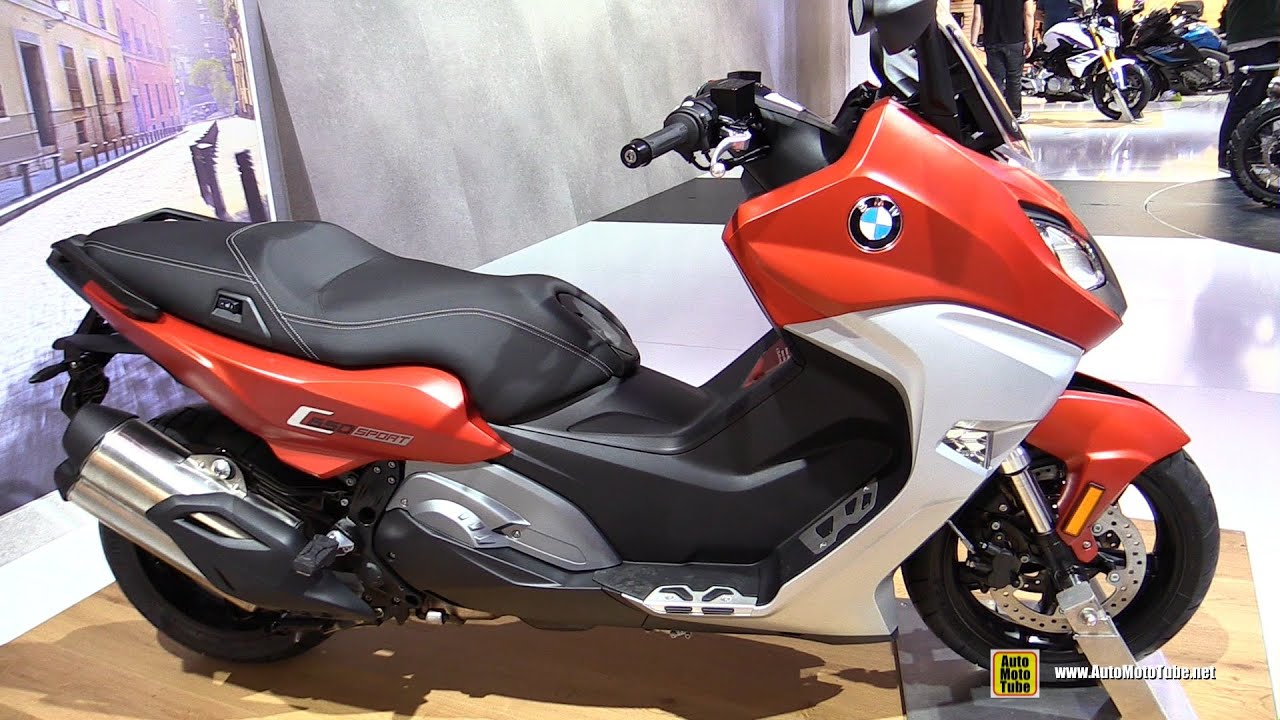2016 bmw c650 sport scooter walkaround 2015 eicma. Black Bedroom Furniture Sets. Home Design Ideas