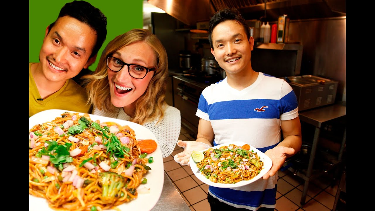 How to make Chow Mein : Recipe for Nepali-Style Chow Mein