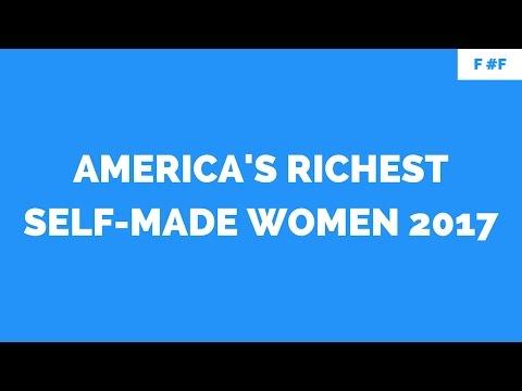 America's Richest Self-Made Women 2017