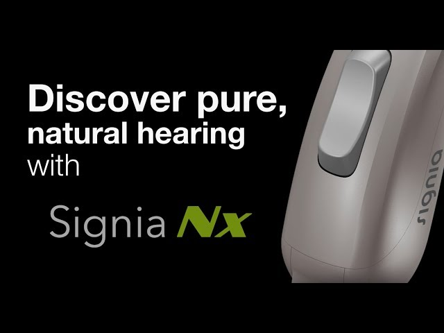 SigniaNX Hearing Device