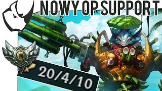 ODKRYLEM NOWY OP PICK NA SUPPORCIE! - League of Legends