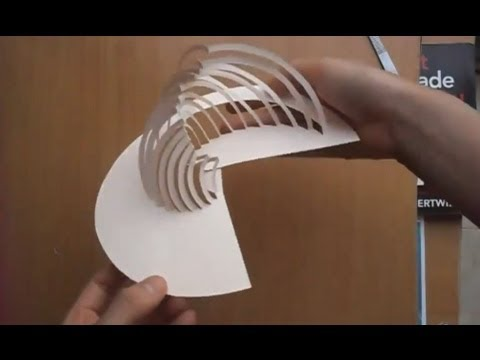 09 Amazing Kirigami Paper Art Tutorial