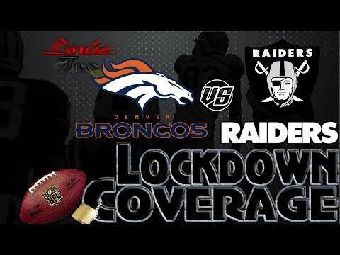 Lockdown Coverage | Denver Broncos vs. Oakland Raiders  WK 12 Analysis🏈🏈🏈 | #LouieTeeLive