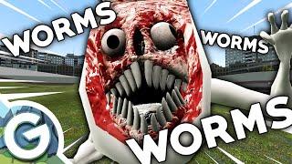 HERE COMES BRIDGE WORM (Garry's Mod) Nextbot Attack