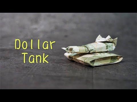 Origami Tutorial: Dollar