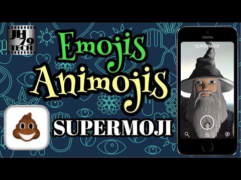 SUPERMOJI - the Emoji App at AppGhost com