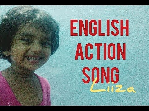 English action song for kids - Johnny Johnny Yes Pappa | Liiza Sarah Noble