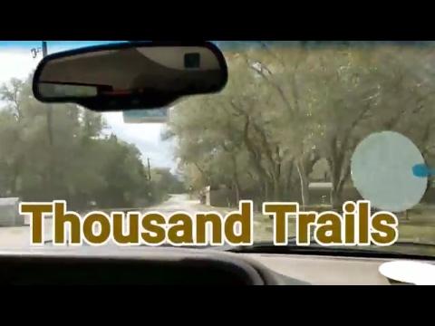 Thousand Trails visit Medina Lake