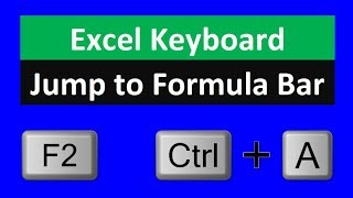 Excel Keyboard Shortcut to Jump To Formula Bar. Excel Magic Trick 1566. thumbnail