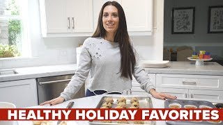 """Beachbody super trainer autumn calabrese shares her tips for staying on track with your healthy eating the holidays. """"it's not one meal that throws us of..."""