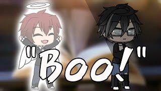"""""""Boo!"""" - A Gacha Life Mini Movie - (Gay Love Story)- (Sad Love Story) - White Rabbitx"""