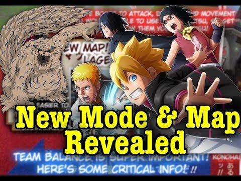 New Mode, Konoha Map, & More For Shinobi Strikers