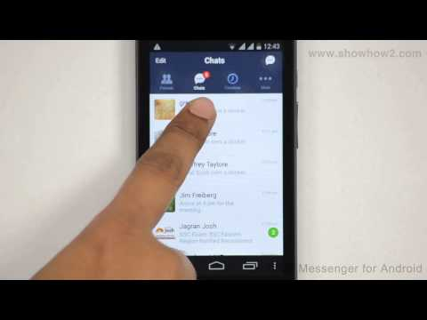 Line Messenger - How To Backup And Share Chat History