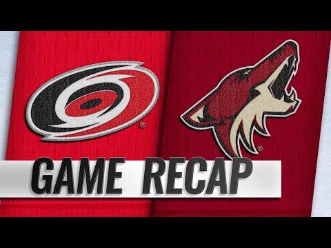 Grabner scores OT winner as Coyotes top Hurricanes
