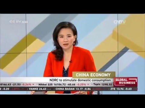 China's NDRC to stimulate domestic consumption