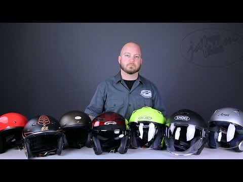 Open Face (3/4) Helmet Buying Guide From Jafrum.com