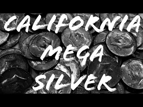 Mega California Silver Box! 30 Silvers In 1 Box! Coin Roll Treasure Hunting!