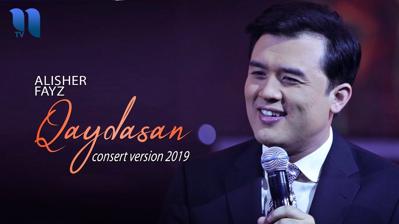 Alisher Fayz - Qaydasan | Алишер Файз - Кайдасан (consert version, 2019)