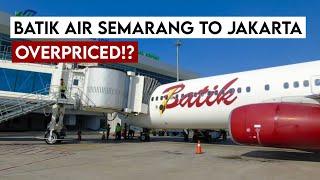 Review Batik Air Semarang to Jakarta ID6355. Harga 850rb, IFE Tidak Dinyalakan!