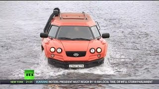 RT - Aton Impulse Viking Amphibious Off-Road Vehicle [1080p]