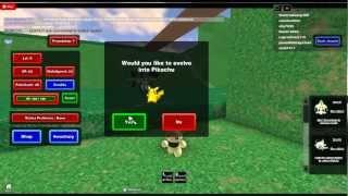 Roblox giocare intorno:pokemon episodio 1 dat pikachu