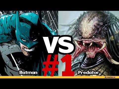 Видео Комикс: Бэтмен против Хищника  Часть #1