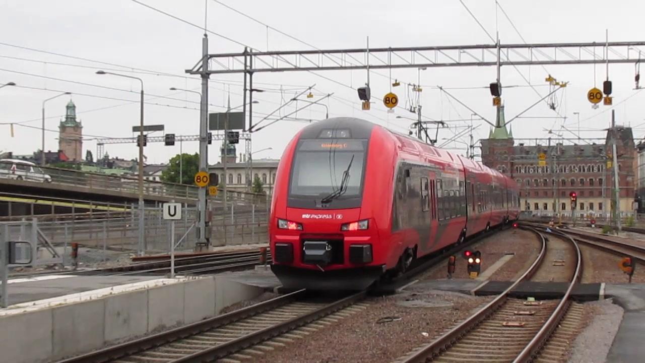 Tåg till stockholm mtr