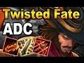 👍 TWISTED FATE ADC S7 | Maestrias, Runas y Objetos/Build | Vídeo Gameplay | No Guía | Parche 7.7