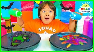 Download Pancake Art Challenge Mystery Wheel Halloween Edition!! Mp3 and Videos