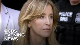 Prosecutors call for Felicity Huffman to spend a month in jail