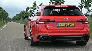 2018 Audi RS4 Avant - Start up, Revs & Accelerations!