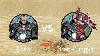 Shadow Fight 2 Titan vs Titan-Fungus