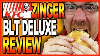 Kfc Zinger Blt Deluxe Combo Review + Taco Bell Confusion