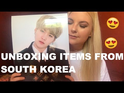 UNBOXING | BTS STUFF FROM SOUTH KOREA